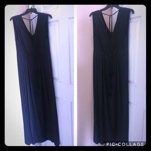 Navy Calypso St. Barth Maxi Dress
